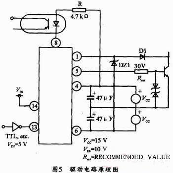 驱动电路原理图