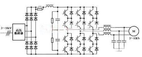 高压变频器主电路图分析及其应用