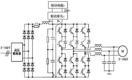 igbt直接串联逆变,输出效率达98%的高压调速系统.