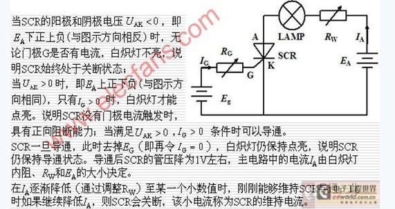 晶闸管的结构与工作原理