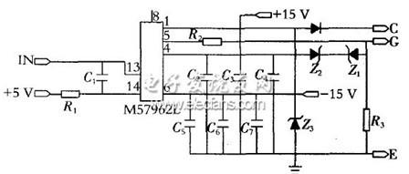 基于m57962l的一种igbt驱动电路设计方案