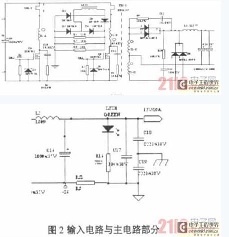控制电路采用uc3846,它是一种双端输出的电流控制型脉宽调制器芯片