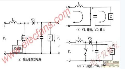 二极管升压电路原理