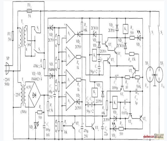 330w交流稳压电源电路设计