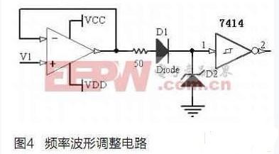 锁相倍频的功能,频率的放大倍数可以接在cd4060的q4