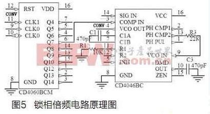 avcc和dvcc分别为模拟电源和数字电源,范围为4.75~5.25 v.