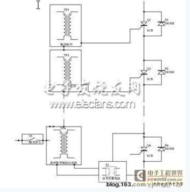 新型获取晶闸管电压过零信号的电路