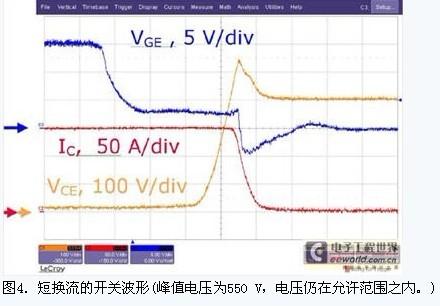 400v直流母线电压和25°c