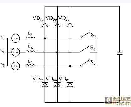 电力电子整流器-三相pfc整流器在输入电压不对称时的