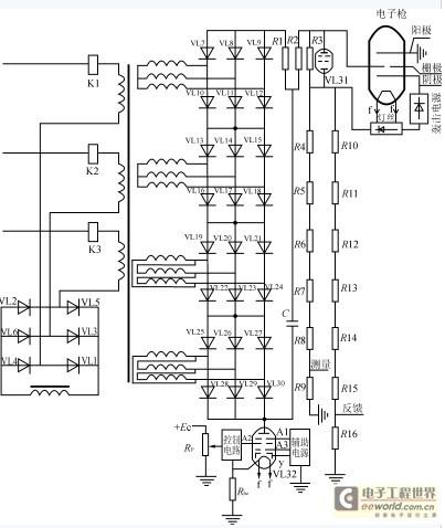 高压直流电源装置