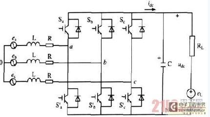 电力电子整流器-三相pwm整流器双闭环pi调节器的新型