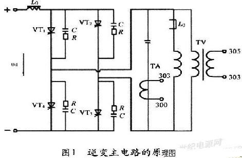 图2为反馈电路的原理图