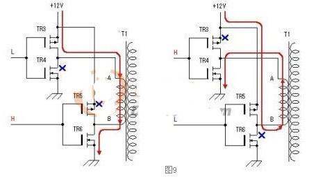 自制电源变压器的mos场效应管逆变器
