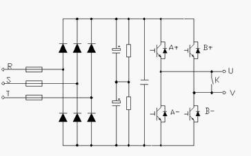 图4 功率单元主电路图