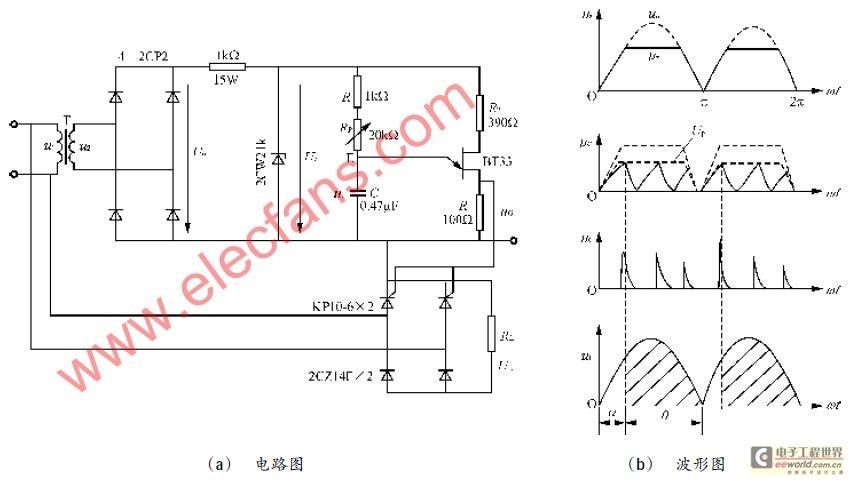 晶闸管_晶闸管触发电路应用实例