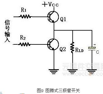 关于三极管开关的一些电路分析设计