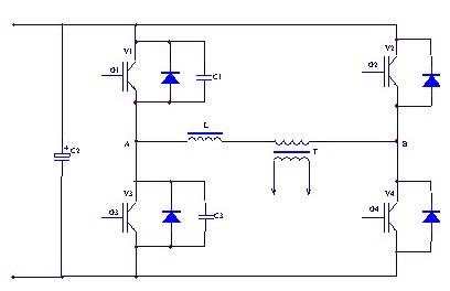 逆变焊机主回路简图及其基本工作原理