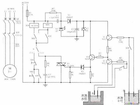 抽水机水位控制器