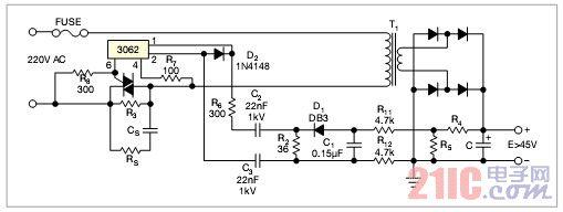 浪涌电流的电路介绍
