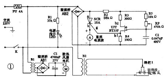 b2初级绕组内有交流电流流过